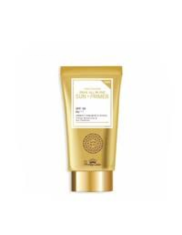 Pretty Skin, Праймер с муцином улитки Snail All in One Sun + Primer SPF50 PA+++