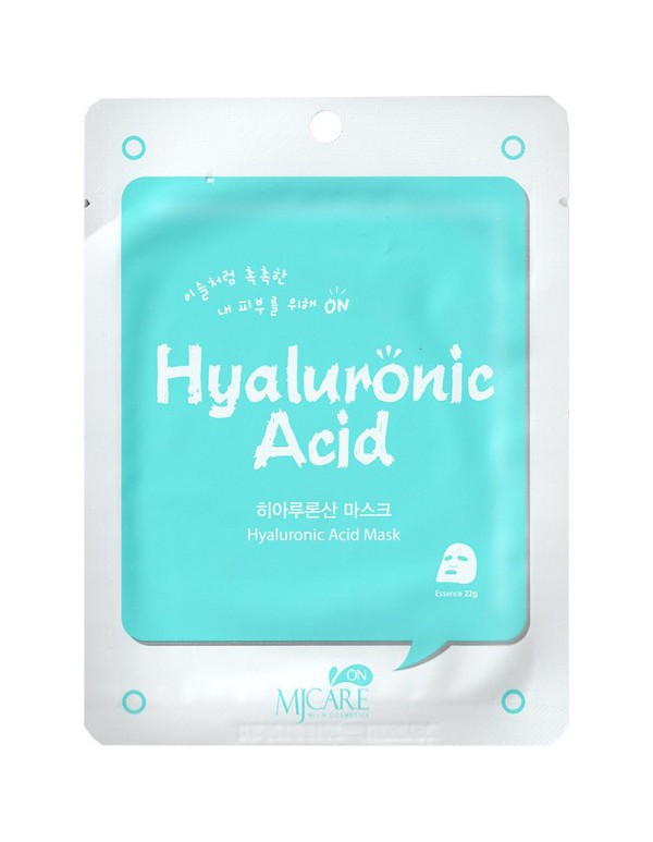 MJ Care, Маска для лица с гиалуроновой кислотой Hyaluronic Acid Mask
