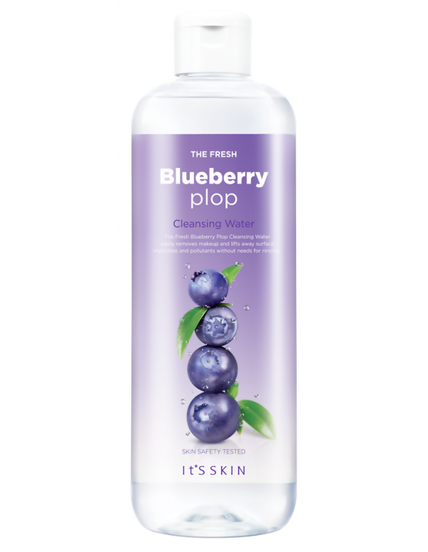 It's Skin, Мицеллярная вода с экстрактом черники The Fresh Plop Cleansing Water (Blueberry)