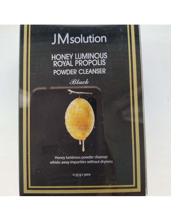 JM Solution, Энзимная пудра Honey Luminous Royal Propolis Powder Cleanser Black