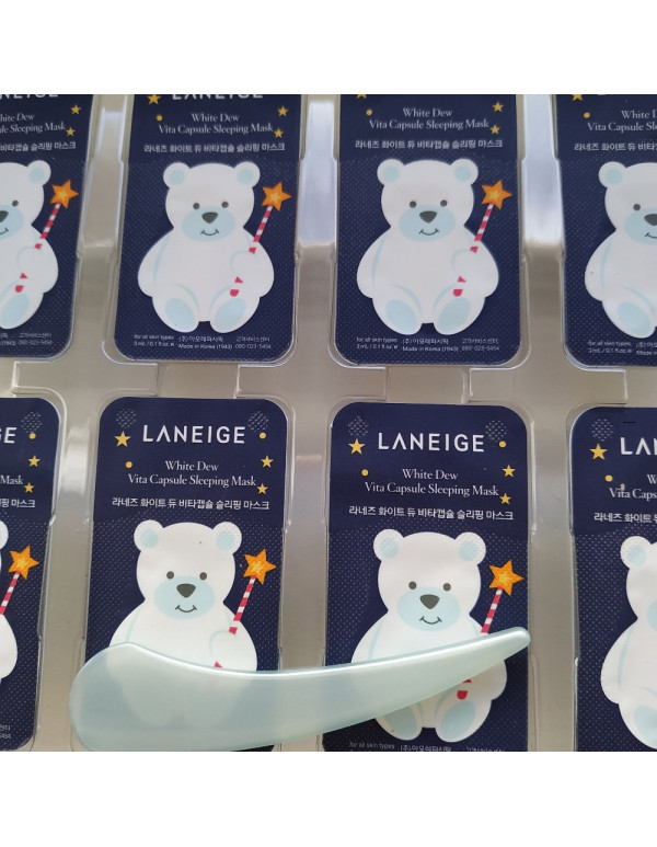 Laneige, Витаминная капсульная ночная маска Vita Capsule Sleeping Mask